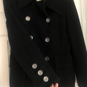 Michael Kors double breasted wool pea coat